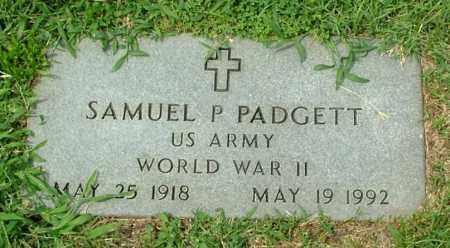 PADGETT, SAMUEL P. - Henrico County, Virginia | SAMUEL P. PADGETT - Virginia Gravestone Photos