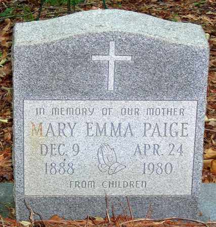 PAIGE, MARY EMMA - Henrico County, Virginia | MARY EMMA PAIGE - Virginia Gravestone Photos