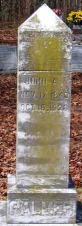 PALMER, JOHN A. - Henrico County, Virginia   JOHN A. PALMER - Virginia Gravestone Photos