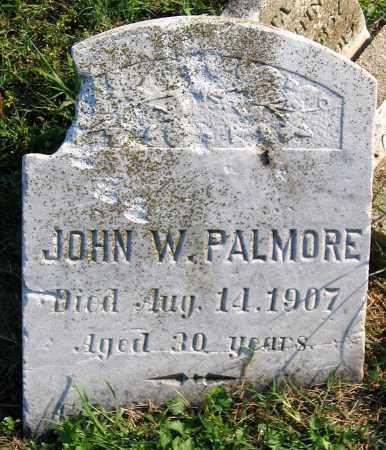 PALMORE, JOHN W. - Henrico County, Virginia | JOHN W. PALMORE - Virginia Gravestone Photos