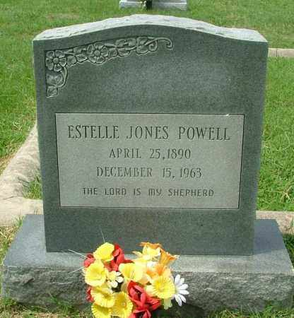 POWELL, ESTELLE JONES - Henrico County, Virginia | ESTELLE JONES POWELL - Virginia Gravestone Photos