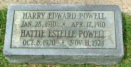 POWELL, HARRY EDWARD - Henrico County, Virginia | HARRY EDWARD POWELL - Virginia Gravestone Photos