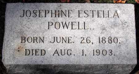 POWELL, JOSEPHINE ESTRELLA - Henrico County, Virginia | JOSEPHINE ESTRELLA POWELL - Virginia Gravestone Photos