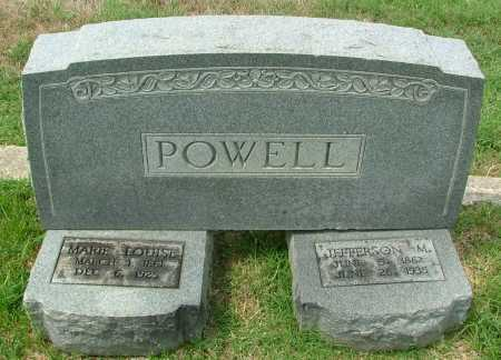 POWELL, MARIE LOUISE - Henrico County, Virginia | MARIE LOUISE POWELL - Virginia Gravestone Photos