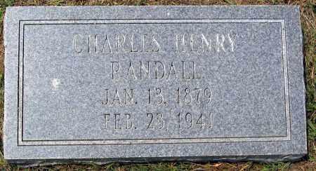 RANDALL, CHARLES HENRY - Henrico County, Virginia   CHARLES HENRY RANDALL - Virginia Gravestone Photos