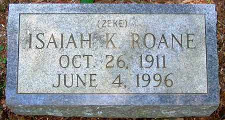 ROANE, ISAIAH K. - Henrico County, Virginia | ISAIAH K. ROANE - Virginia Gravestone Photos
