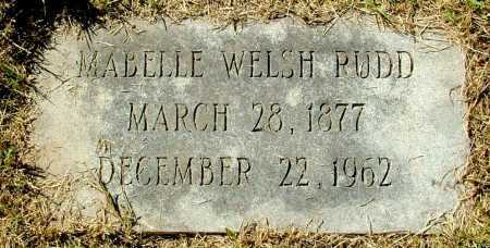 WELSH RUDD, MABELLE - Henrico County, Virginia | MABELLE WELSH RUDD - Virginia Gravestone Photos