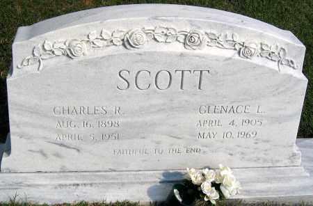 SCOTT, CHARLES R. - Henrico County, Virginia | CHARLES R. SCOTT - Virginia Gravestone Photos