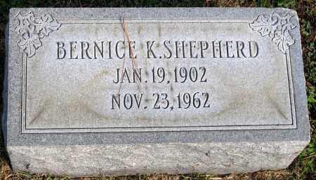 SHEPHERD, BERNICE K. - Henrico County, Virginia | BERNICE K. SHEPHERD - Virginia Gravestone Photos
