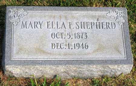 SHEPHERD, MARY ELLA F. - Henrico County, Virginia   MARY ELLA F. SHEPHERD - Virginia Gravestone Photos