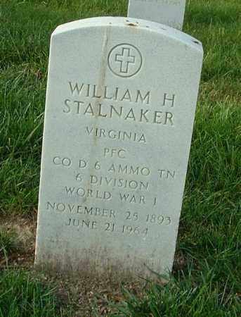 STALNAKER, WILLIAM H. - Henrico County, Virginia | WILLIAM H. STALNAKER - Virginia Gravestone Photos