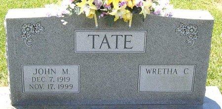 TATE, JOHN M. - Henrico County, Virginia | JOHN M. TATE - Virginia Gravestone Photos