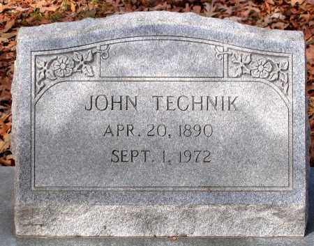TECHNICK, JOHN - Henrico County, Virginia | JOHN TECHNICK - Virginia Gravestone Photos