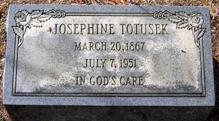 TOTUSEK, JOSEPHINE - Henrico County, Virginia | JOSEPHINE TOTUSEK - Virginia Gravestone Photos