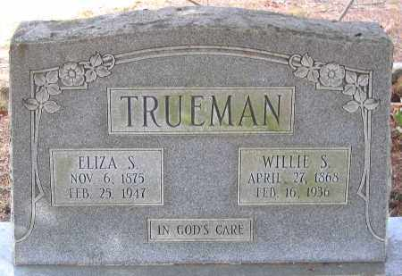 TRUEMAN, ELIZA S. - Henrico County, Virginia | ELIZA S. TRUEMAN - Virginia Gravestone Photos