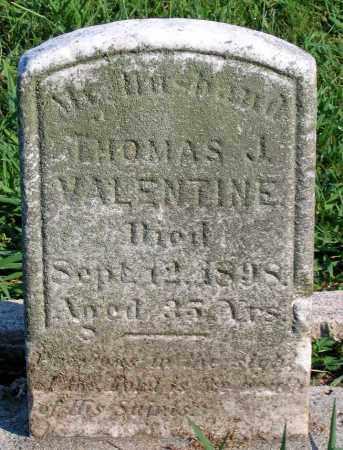 VALENTINE, THOMAS J. - Henrico County, Virginia | THOMAS J. VALENTINE - Virginia Gravestone Photos