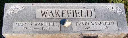 WAKEFIELD, MARY A. - Henrico County, Virginia | MARY A. WAKEFIELD - Virginia Gravestone Photos