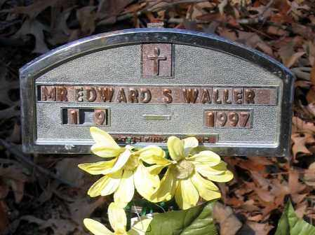 WALLER, EDWARD S. - Henrico County, Virginia | EDWARD S. WALLER - Virginia Gravestone Photos
