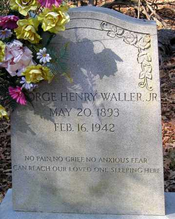 WALLER, GEORGE HENRY JR. - Henrico County, Virginia | GEORGE HENRY JR. WALLER - Virginia Gravestone Photos