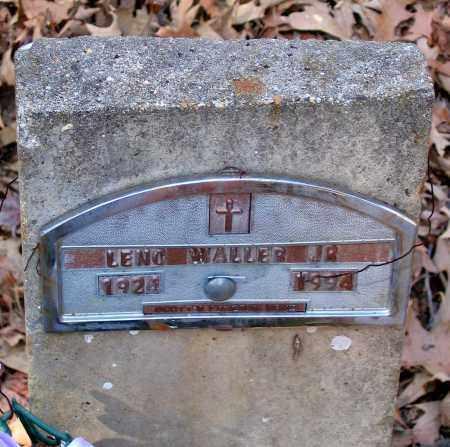 WALLER, LENO JR. - Henrico County, Virginia | LENO JR. WALLER - Virginia Gravestone Photos