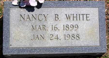 WHITE, NANCY B. - Henrico County, Virginia   NANCY B. WHITE - Virginia Gravestone Photos