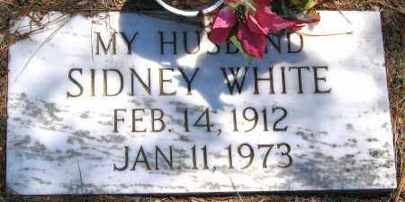 WHITE, SIDNEY - Henrico County, Virginia | SIDNEY WHITE - Virginia Gravestone Photos
