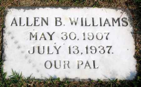 WILLIAMS, ALLEN B. - Henrico County, Virginia | ALLEN B. WILLIAMS - Virginia Gravestone Photos