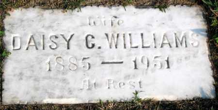 WILLIAMS, DAISY C. - Henrico County, Virginia   DAISY C. WILLIAMS - Virginia Gravestone Photos