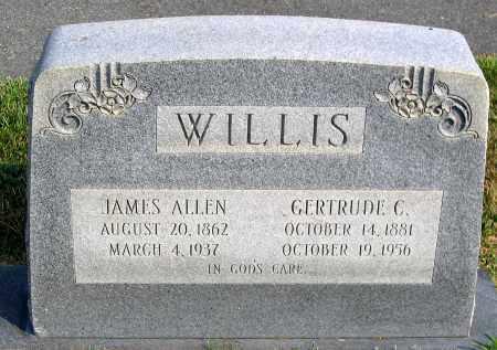 WILLIS, JAMES ALLEN - Henrico County, Virginia | JAMES ALLEN WILLIS - Virginia Gravestone Photos