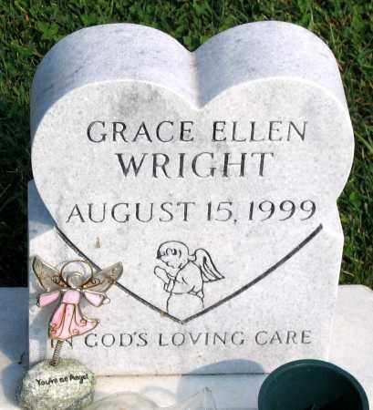 WRIGHT, GRACE ELLEN - Henrico County, Virginia   GRACE ELLEN WRIGHT - Virginia Gravestone Photos