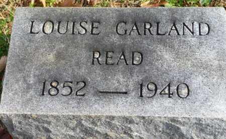 READ READ, LOUISE - Henry County, Virginia   LOUISE READ READ - Virginia Gravestone Photos