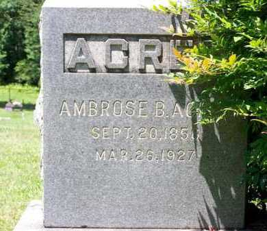 ACREE, AMBROSE BUFORD - King and Queen County, Virginia   AMBROSE BUFORD ACREE - Virginia Gravestone Photos