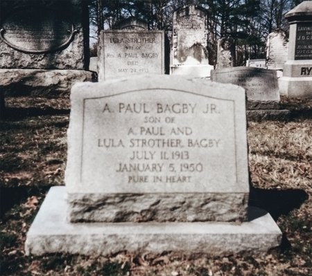 BAGBY, ALFRED PAUL JR. - King and Queen County, Virginia | ALFRED PAUL JR. BAGBY - Virginia Gravestone Photos