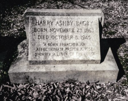 BAGBY, HARRY ASHBY - King and Queen County, Virginia | HARRY ASHBY BAGBY - Virginia Gravestone Photos