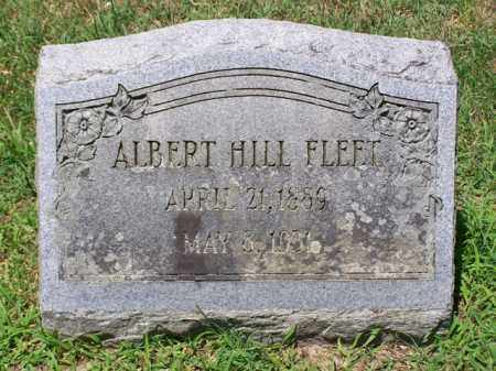 FLEET, ALBERT HILL - King and Queen County, Virginia | ALBERT HILL FLEET - Virginia Gravestone Photos