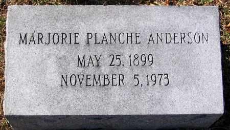 PLANCHE ANDERSON, MARJORIE - King William County, Virginia | MARJORIE PLANCHE ANDERSON - Virginia Gravestone Photos