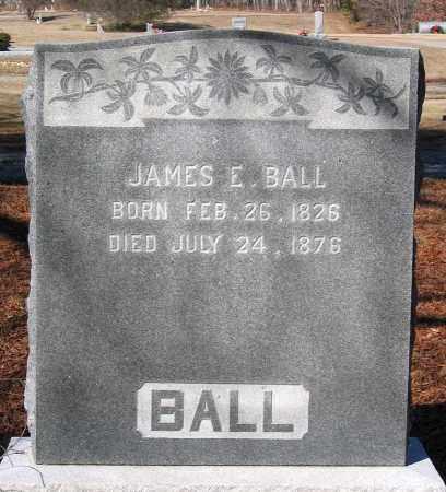 BALL, JAMES E. - King William County, Virginia   JAMES E. BALL - Virginia Gravestone Photos
