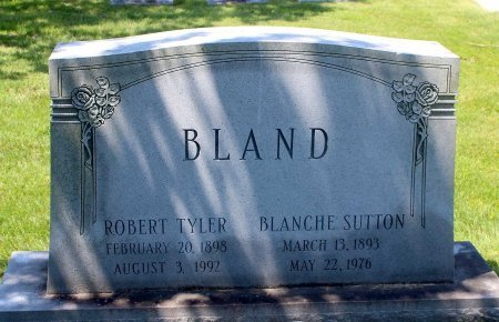 BLAND, ROBERT TYLER - King William County, Virginia | ROBERT TYLER BLAND - Virginia Gravestone Photos