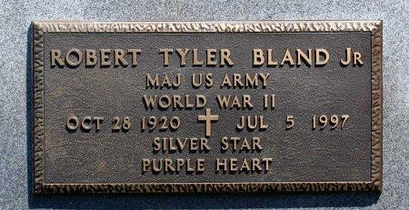 BLAND, ROBERT TYLER JR. - King William County, Virginia | ROBERT TYLER JR. BLAND - Virginia Gravestone Photos