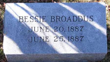 BROADDUS, BESSIE - King William County, Virginia | BESSIE BROADDUS - Virginia Gravestone Photos