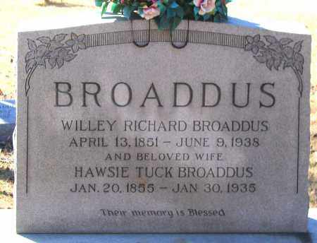 BROADDUS, WILLEY RICHARD - King William County, Virginia | WILLEY RICHARD BROADDUS - Virginia Gravestone Photos