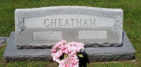 CHEATHAM, BENJAMIN GARY - King William County, Virginia | BENJAMIN GARY CHEATHAM - Virginia Gravestone Photos