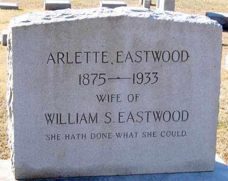 EASTWOOD, ARLETTE - King William County, Virginia | ARLETTE EASTWOOD - Virginia Gravestone Photos