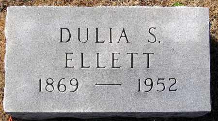 ELLETT, DULIA S. - King William County, Virginia   DULIA S. ELLETT - Virginia Gravestone Photos
