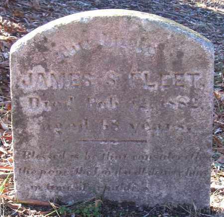 FLEET, JAMES S. - King William County, Virginia   JAMES S. FLEET - Virginia Gravestone Photos