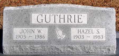 GUTHRIE, HAZEL S. - King William County, Virginia | HAZEL S. GUTHRIE - Virginia Gravestone Photos