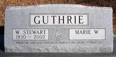 GUTHRIE, W. STEWART - King William County, Virginia   W. STEWART GUTHRIE - Virginia Gravestone Photos