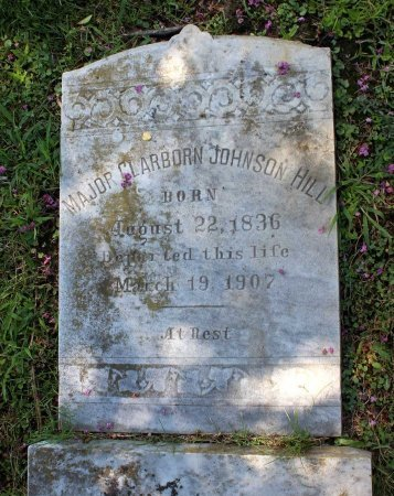 HILL, CLARBORN JOHNSON - King William County, Virginia | CLARBORN JOHNSON HILL - Virginia Gravestone Photos