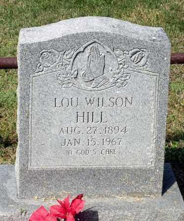 HILL, LOU WILSON - King William County, Virginia   LOU WILSON HILL - Virginia Gravestone Photos