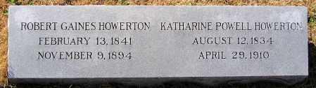 POWELL HOWERTON, KATHARINE - King William County, Virginia | KATHARINE POWELL HOWERTON - Virginia Gravestone Photos